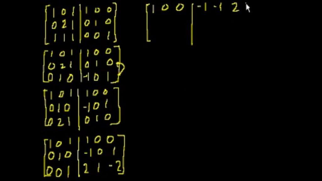 Matrisler 5 – Ters Matris – Matrisler Nasıl Hesaplanır – Matris Sistemleri – Matrisler Ödev Yaptırma